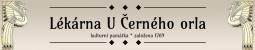 Logo firmy: Lékárna U Černého orla - Vidnava
