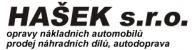 Logo firmy: Autoopravna Hašek s.r.o.