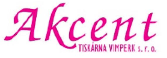Logo firmy: Akcent tiskárna Vimperk, s.r.o.