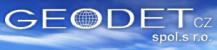 Logo firmy: GEODET CZ, s.r.o.
