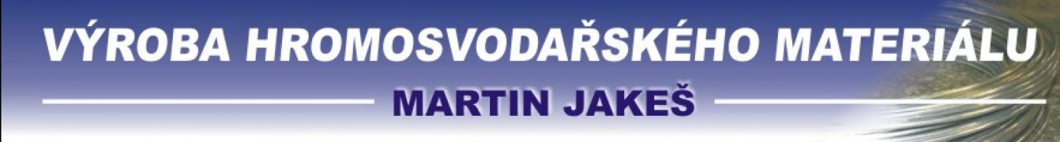 Logo firmy: Martin Jakeš - hromosvody