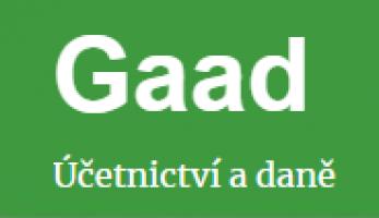 Logo firmy: Gaad účetnictví a daně, spol. s.r.o.