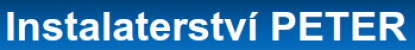Logo firmy: Instalatérství Peter