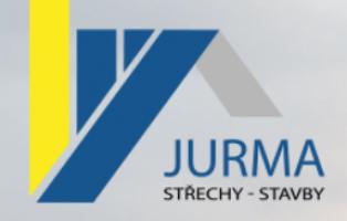 Logo firmy: Jurma střechy - stavby