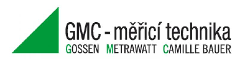 Logo firmy: GMC - měřicí technika, s.r.o.
