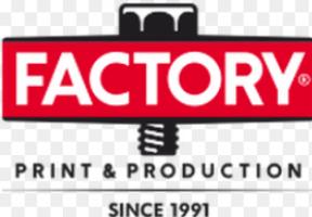 Logo firmy: Factory velkoplošný tisk s.r.o.