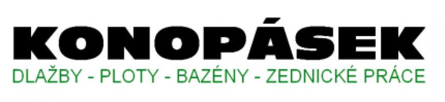 Logo firmy: Dlažby - ploty Konopásek