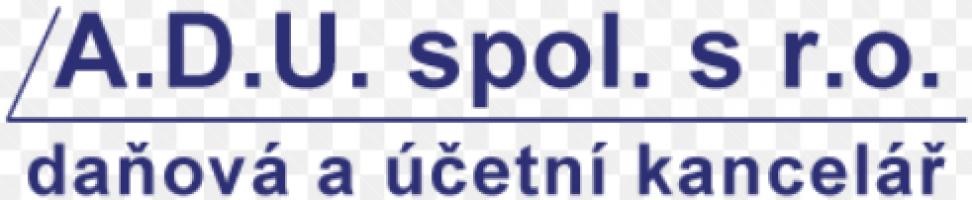 Logo firmy: A.D.U. spol. s r.o. – daňová a účetní kancelář