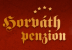 Logo firmy: Penzion Horváth ****