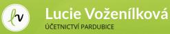 Logo firmy: Lucie Voženílková - účetnictví Pardubice