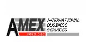 Logo firmy: AMEX Brno, s.r.o. - archivace dokumentů, spisová služba, reality, dražby
