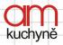 Logo firmy: AM kuchyně a podlahy