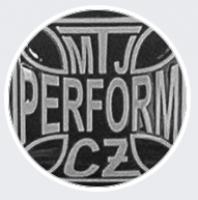 Logo firmy: Martin Jirát - kominictví MTJ perform