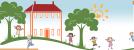 Logo firmy: Dětský domov a Školní jídelna, Chomutov