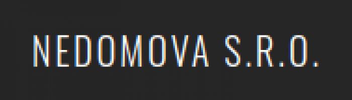 Logo firmy: NEDOMOVA s.r.o.
