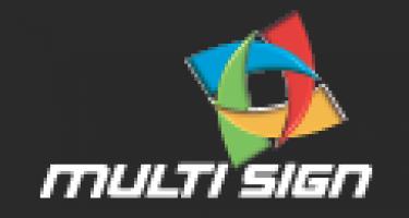 Logo firmy: Radek Holakovský - Multi sign