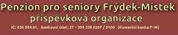 Logo firmy: Penzion pro seniory Frýdek-Místek, příspěvková organizace