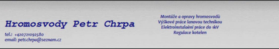 Logo firmy: Hromosvody Petr Chrpa