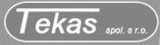 Logo firmy: TEKAS, spol. s r.o.