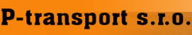 Logo firmy: P-transport s.r.o.