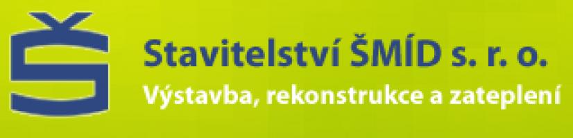 Logo firmy: Stavitelství ŠMÍD s.r.o.