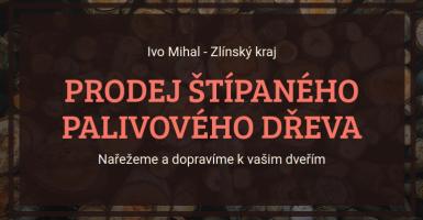 Logo firmy: Ivo Mihal - štípané palivové dřevo