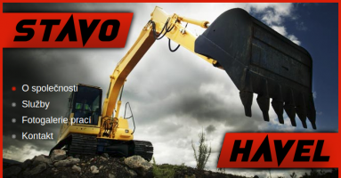 Logo firmy: STAVO-Havel s.r.o. - stavby, stavební práce, zednictví, zemní práce, autodoprava