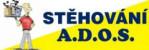 Logo firmy: Stěhování A.D.O.S.