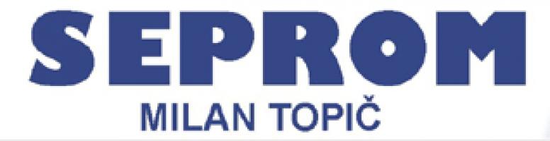 Logo firmy: Seprom - Milan Topič