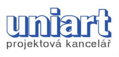 Logo firmy: Uniart projektová kancelář