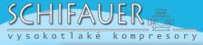 Logo firmy: Miroslav Schifauer - vysokotlaké kompresory