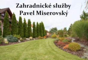 Logo firmy: Pavel Miserovský - zahradnické služby