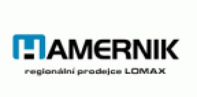 Logo firmy: Jaroslav Hamerník - vrata a brány Lomax