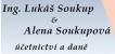 Logo firmy: Soukup & Soukupová - účetnictví a daně