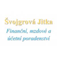 Logo firmy: Jitka Švojgrová - finanční, mzdové a účetní poradenství