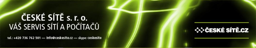 Logo firmy: České sítě s.r.o.