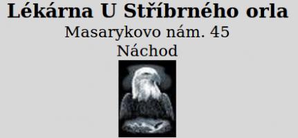 Logo firmy: Lékárna U Stříbrného orla - Magistra
