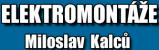 Logo firmy: Miloslav Kalců - elektro