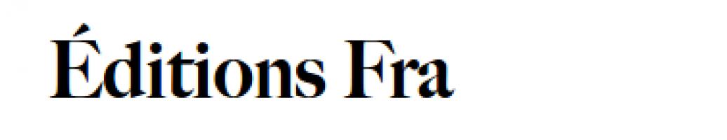 Logo firmy: Éditions Fra s.r.o.