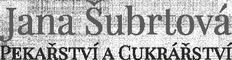 Logo firmy: Pekařství a cukrářství Jana Šubrtová