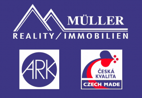 Logo firmy: MÜLLER - REALITY/IMMOBILIEN, s.r.o.