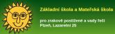 Logo firmy: Základní škola a Mateřská škola pro zrakově postižené a vady řeči, Plzeň, Lazaretní 25