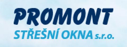 Logo firmy: PROMONT střešní okna s.r.o.