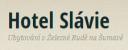 Logo firmy: Hotel a restaurace Slávie