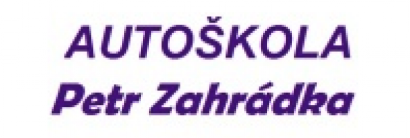 Logo firmy: Petr Zahrádka - autoškola