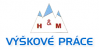 Logo firmy: Výškové práce H & M