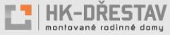 Logo firmy: HK - DŘESTAV s.r.o. - montované rodinné domy