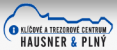Logo firmy: Klíčové a trezorové centrum Hausner-Plný s.r.o.