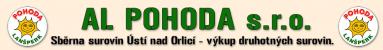 Logo firmy: AL POHODA s.r.o. - sběrné suroviny