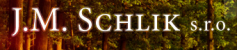 Logo firmy: J. M. Schlik, s.r.o.